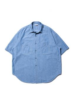 Cootie Chambray Work S/S Shirt
