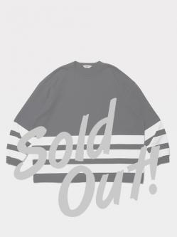 Cootie Heavy Cotton Panel Border L/S Tee